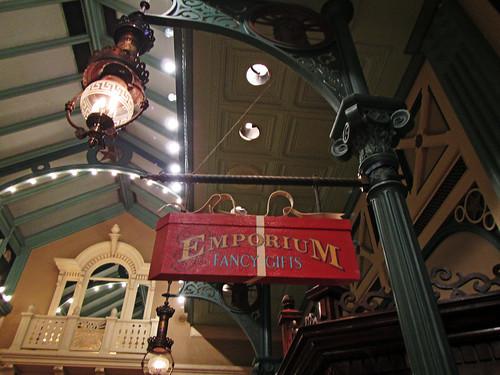 Emporium sign