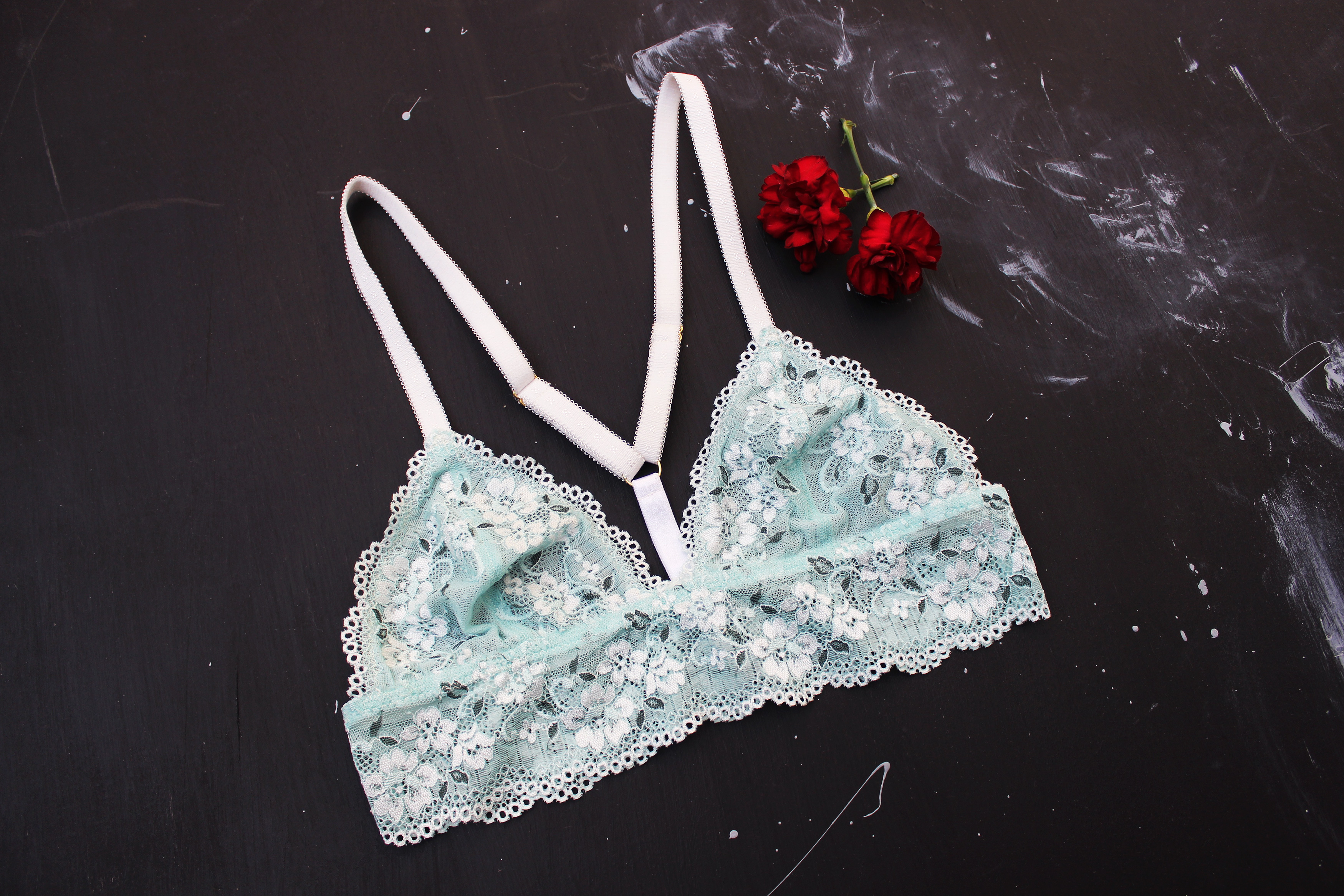 DIY Handmade Lingerie Merckwaerdigh Triangle Bralette Mix30 Tailor Made Shop