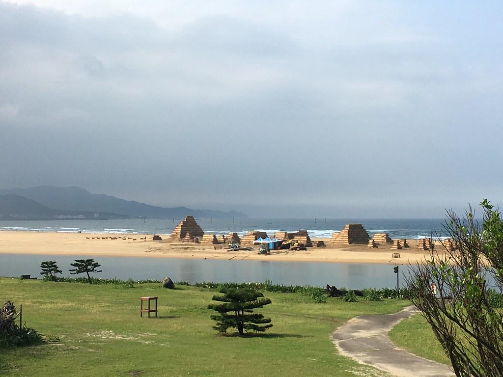 20160413 新北福隆 海水浴場 沙雕藝術季 獨木舟 SUP立式划槳