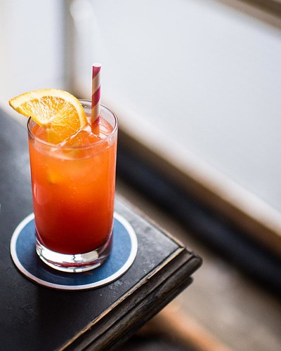 The Garibaldi, a Campari-Orange Aperitivo at Grand Army in Brooklyn. @KatieParla has this recipe and a bunch of other great food ones in her beautiful new cookbook: Tasting Rome. Check her instagram to see more about her current book tour.