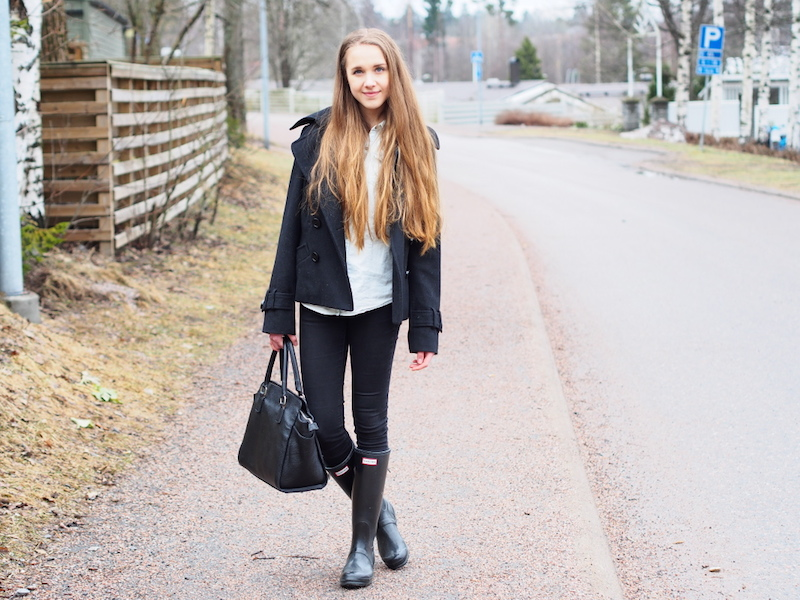 Outfit inspiration for rainy spring days