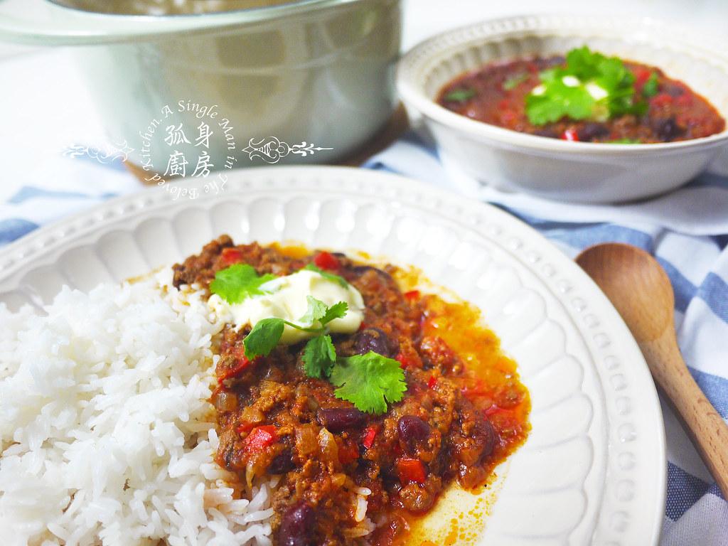孤身廚房-墨西哥辣醬佐香米42