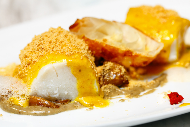 Cod Fish Nestum Crust