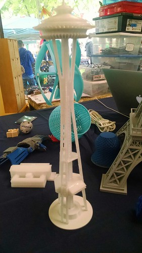 At the Greenbelt Mini Maker Faire, April 23, 2016