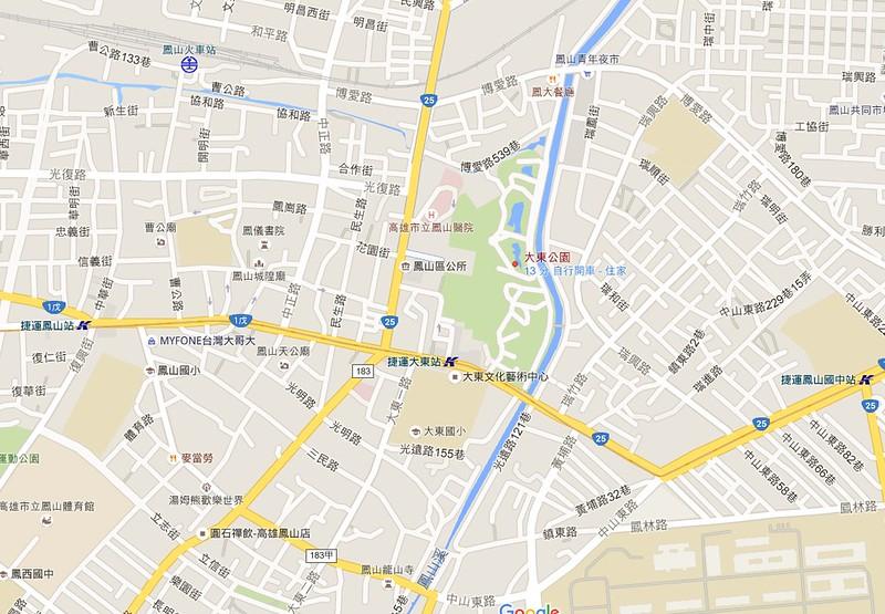 高雄大東公園