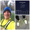 First back-to-back running days in over a week as I am finally feeling 99% over the lingering effects of the bad cold that knocked me on my butt two weeks ago!  Cold and clear morning today, but while I would like it warmer, I really feel so much better a