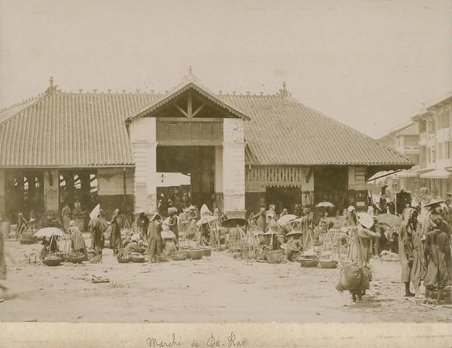 Indochine Circa 1895 - Chợ Lớn - Marché de Cholon