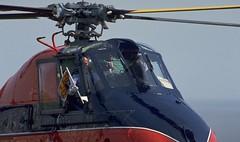 Royal Standard on Helicopter Landing