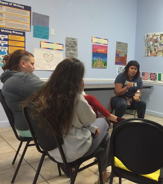 speak at teen drug rehab
