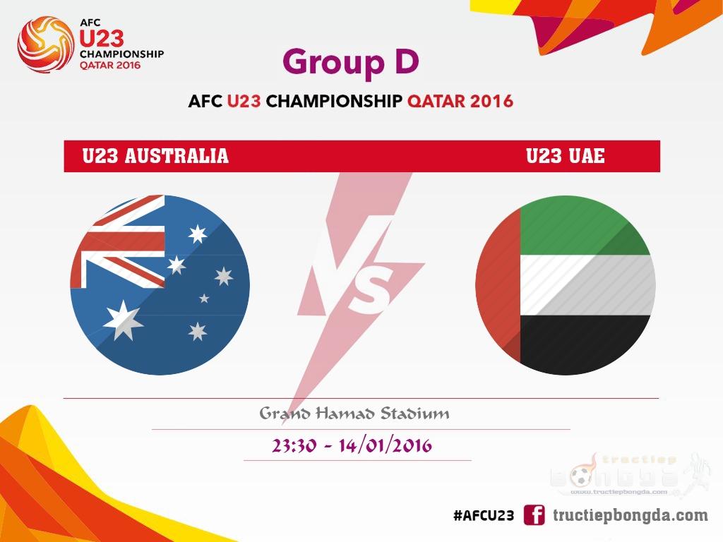 U23 Australia vs U23 UAE