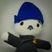 Jeffrey Zeldman doll (with blue beanie) by Dolls For Friends by Jeffrey