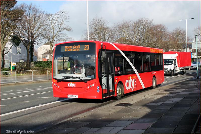 Plymouth Citybus 148 WJ65HMC