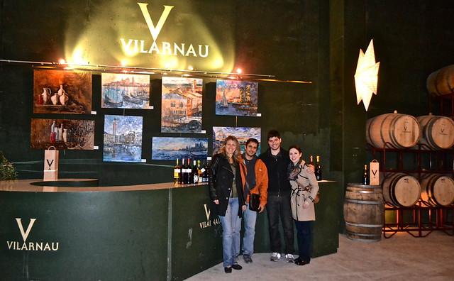 Vilarnau cava wine tour barcelona