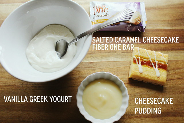 greek yogurt 52 ways: # 32 salted caramel cheesecake