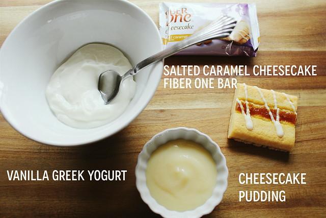 greek yogurt 52 ways: # 32 salted caramel cheesecake