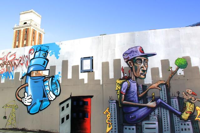 streetart in Leuven (Sluisstraat)