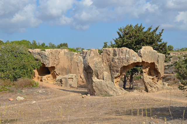 Tombs of the Kings, Kato Pafos, Paphos, Cyprus
