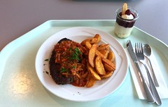 Mexican salisbury steak with vegetable salsa &…