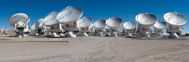 ALMA - Antennas in compact configuration