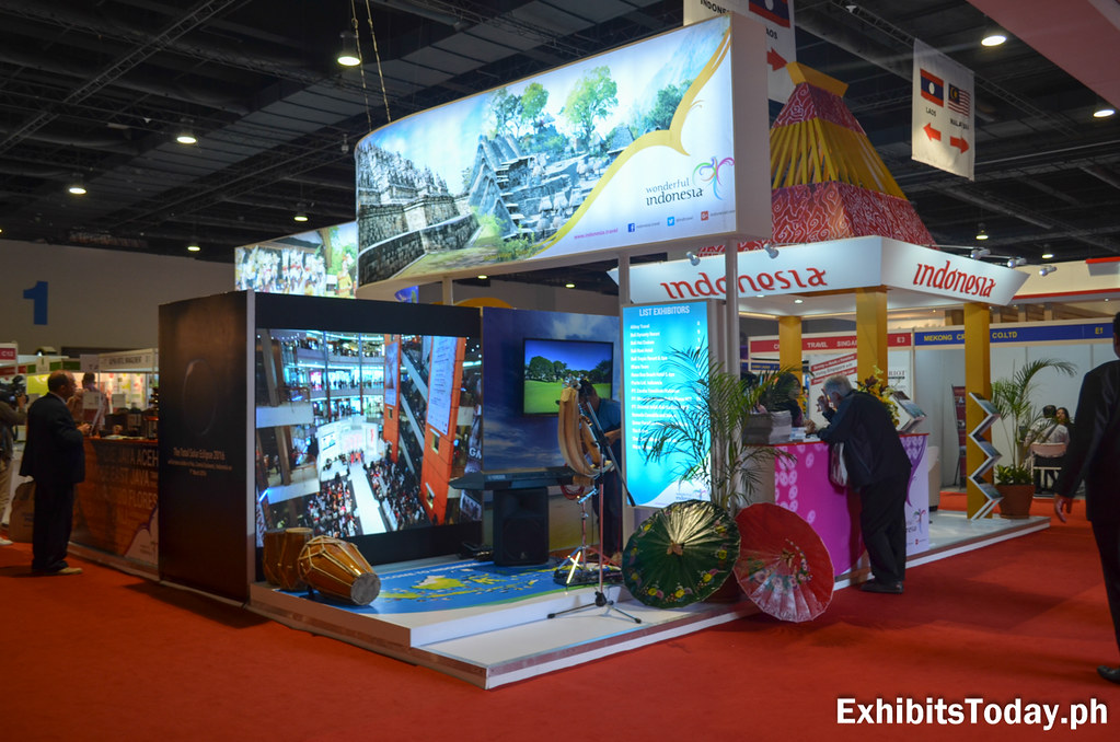 Wonderful Indonesia Trade Show Display (front)