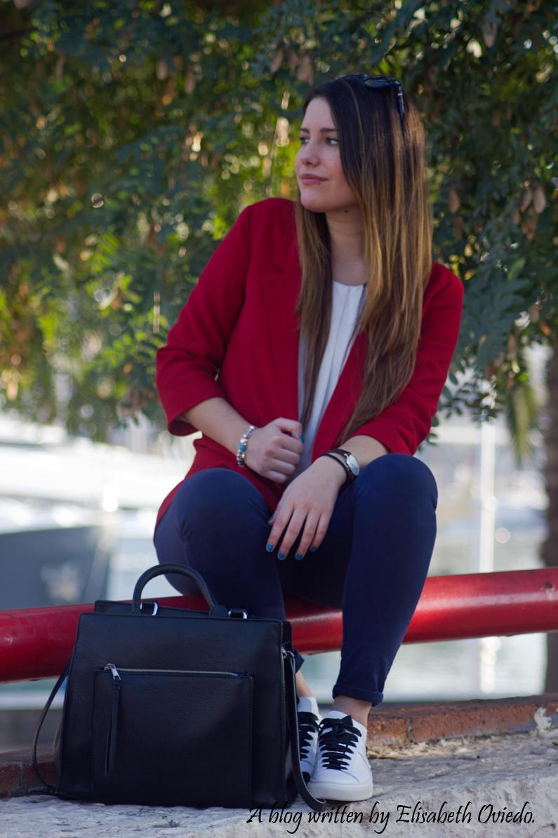 chaqueta roja ZARA deportivas massimo dutti HEELSANDROSES (6)