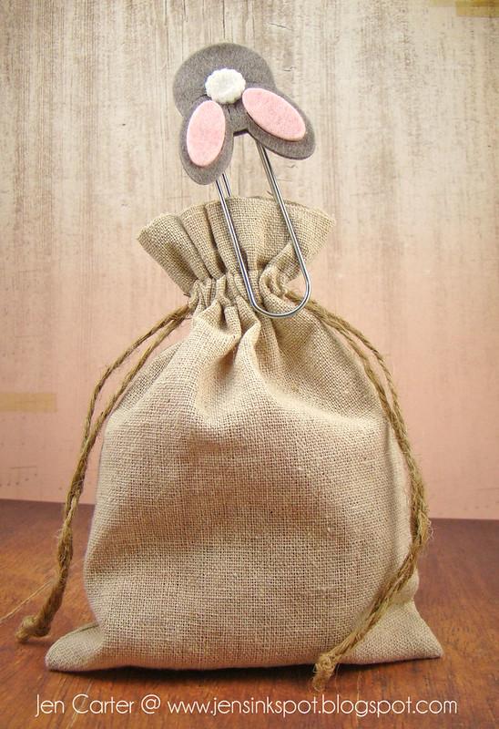 Jen Carter Bunny Butt Bookmark 2