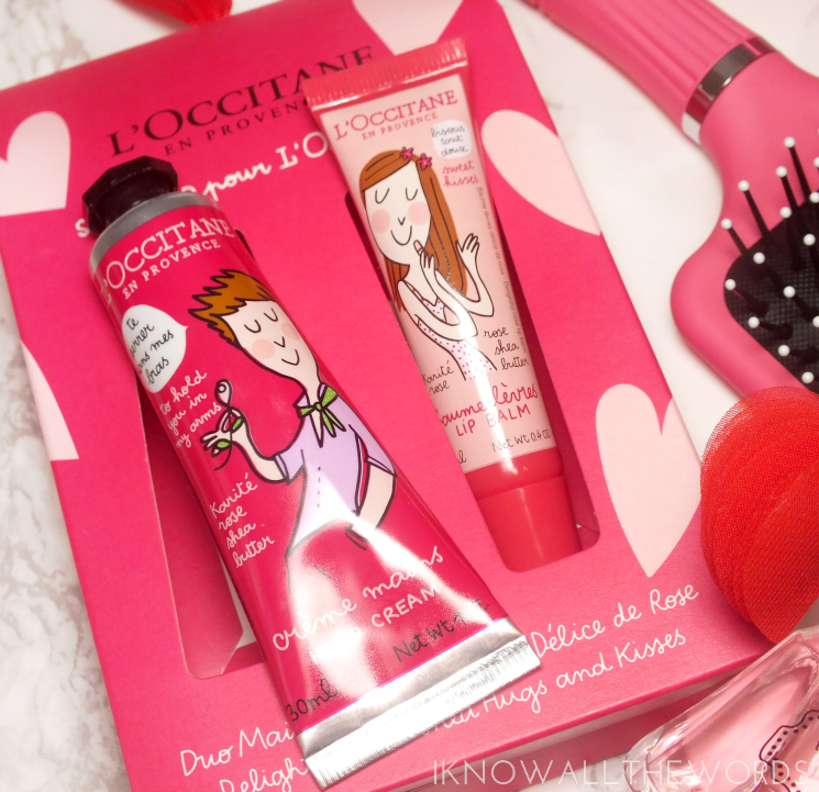 L'Occitane Delightful Rose Shea Hugs & Kisses Duo