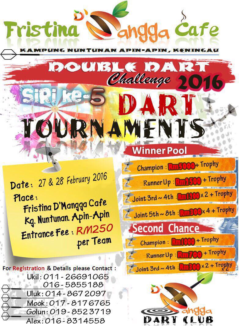 Fristinq D'Mangga Double Dart Challenge 2016