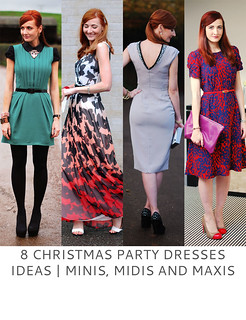 Not Dressed As Lamb | 8 Christmas Party Dresses Ideas - Minis, Midis and Maxis