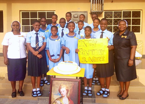 Louisville Girls Secondary School Abuja celebrate St Agnes Day