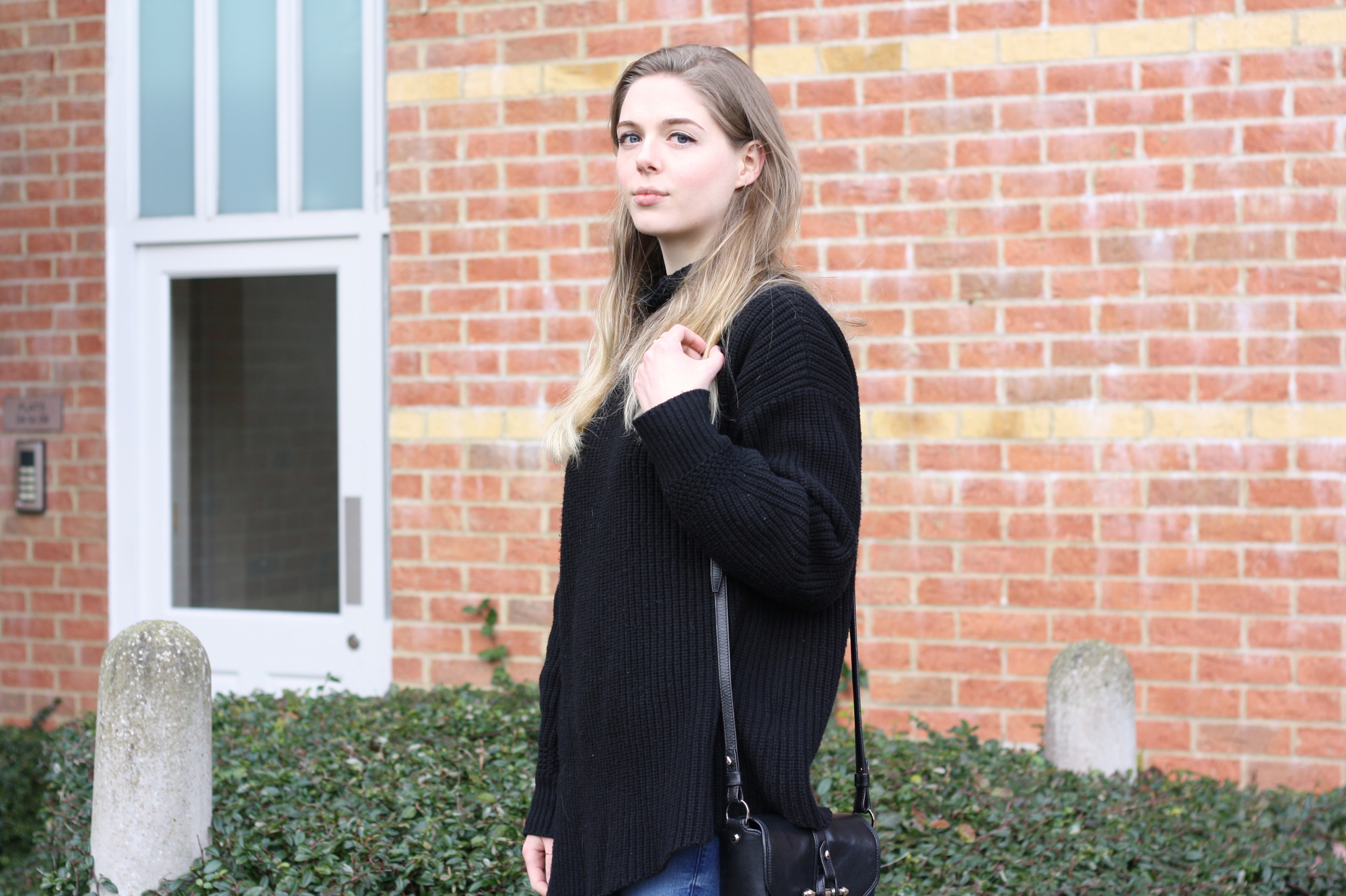 & Other Stories black turtleneck sweater
