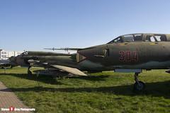 304 - N17532368304 - Polish Air Force - Sukhoi SU-22 UM-3K - Polish Aviation Musuem - Krakow, Poland - 151010 - Steven Gray - IMG_0313