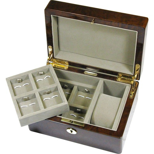 Camphor_Burl_Watch_and_Cufflink_Valet_Box
