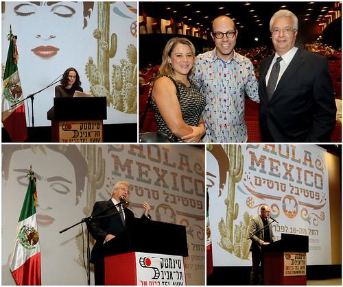 """Inauguración del Festival de cine """"Hola Mexico"""""""
