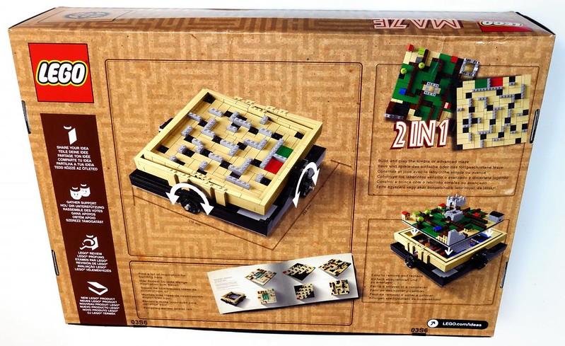 LEGO Ideas 21305 - Maze (Box - back)