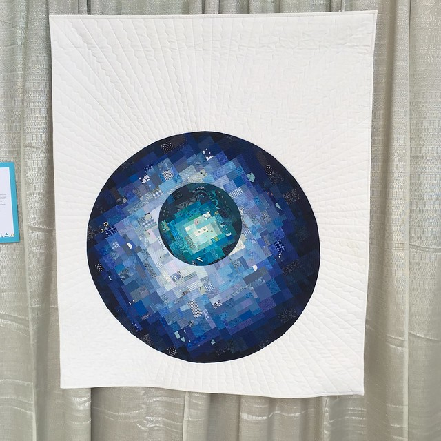 """Lunar Orbit"" by Victoria Mansfield of Alexandra Hills, Queensland, Australia"