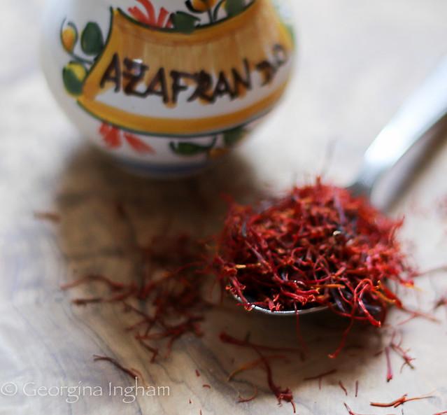 Georgina Ingham | Culinary Travels Photograph - Strands of Saffron