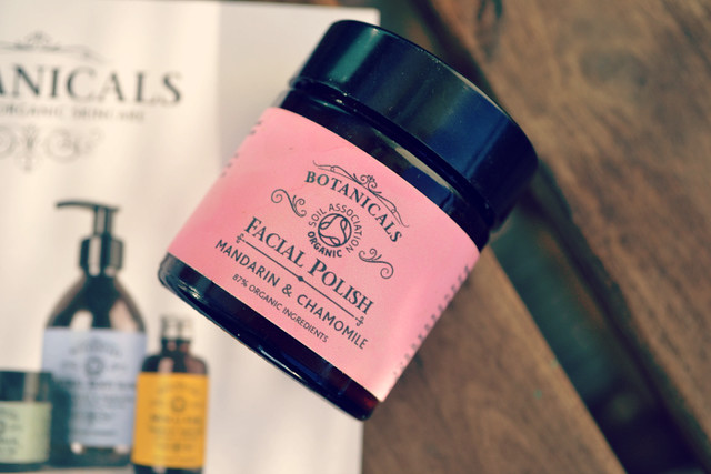 botanicals facial polish