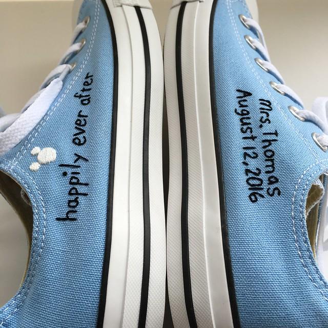 custom converse