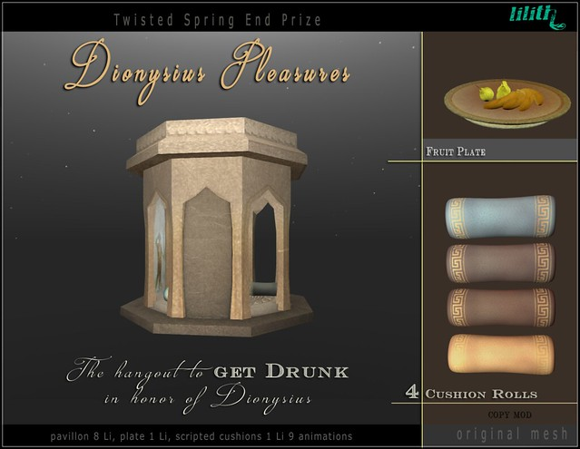 LD Twisted Spring End Prize - Dionysius Pleasures