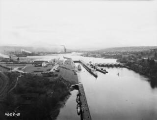 Ballard Locks, 1921