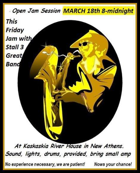 Kaskaskia Riverhouse Jam 3-18-16