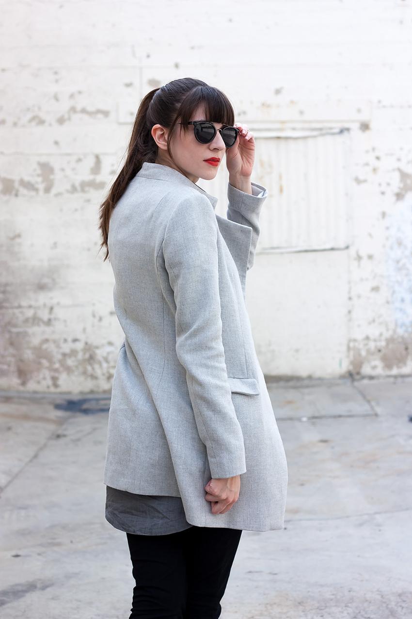 Grey Spring Coat, Zara Coat