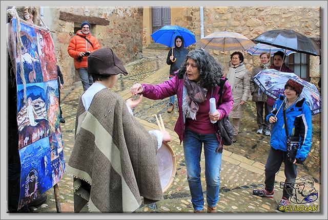La Batalla por la Sal, visitas teatralizadas en Poza de la Sal (6)