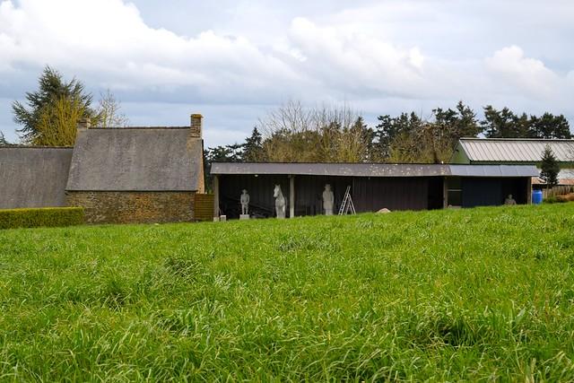 Stone Sculptures in Brittany, France | www.rachelphipps.com @rachelphipps