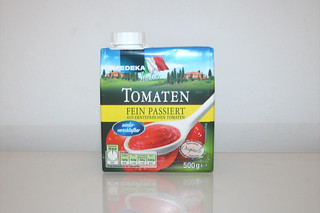 09 - Zutat passierte Tomaten / Ingredient sieved tomatoes