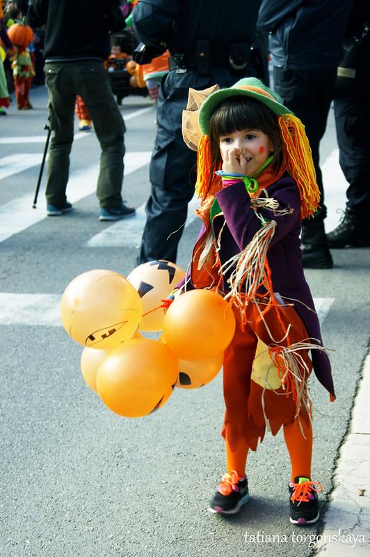 Ребенок  из группы тыкв