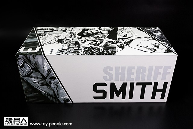 AX2 Limited【SMITH BAKER】BOOM! SERIES #3 Shiro Ver. 開箱報告