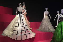 De Young Museum - Oscar de la Renta Custom Evening Dress