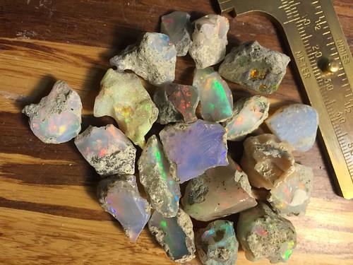 28g Welo Opal Rough  Cutting Quality Parcel